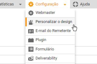 Personalizar sua experiência Mailpro