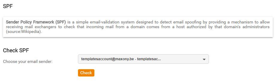 Configurar SPF para Mailpro